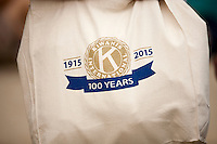 """A Kiwanis International tote bag is seen during """"Circle the City with Service,"""" the Kiwanis Circle K International's 2015 Large Scale Service Project, on Wednesday, June 24, 2015, in Indianapolis. (Photo by James Brosher)"""