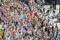 Pictured: Saturday 17 September 2016<br /> Re: Roald Dahl's City of the Unexpected has transformed Cardiff City Centre into a landmark celebration of Wales' foremost storyteller, Roald Dahl, in the year which celebrates his centenary.