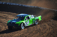 Dec. 9, 2011; Chandler, AZ, USA;  LOORRS pro 4 unlimited driver Nick Tyree during qualifying for round 15 at Firebird International Raceway. Mandatory Credit: Mark J. Rebilas-