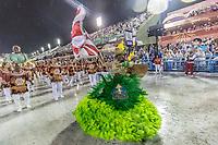 Rio de Janeiro (RJ), 22/02/2020 CARNAVAL - RJ - DESFILE - Desfile das escolas de sambaUnidos de Bangu, da Serie A, neste sabado (22), no sambodromo, no centro do Rio de Janeiro (RJ). (Foto: Ellan Lustosa/Codigo 19/Codigo 19)