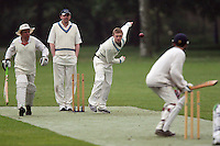 Island Community CC (fielding) vs London Fields CC - Victoria Park Community Cricket League Cup - 01/06/10 - MANDATORY CREDIT: Gavin Ellis/TGSPHOTO - Self billing applies where appropriate - Tel: 0845 094 6026