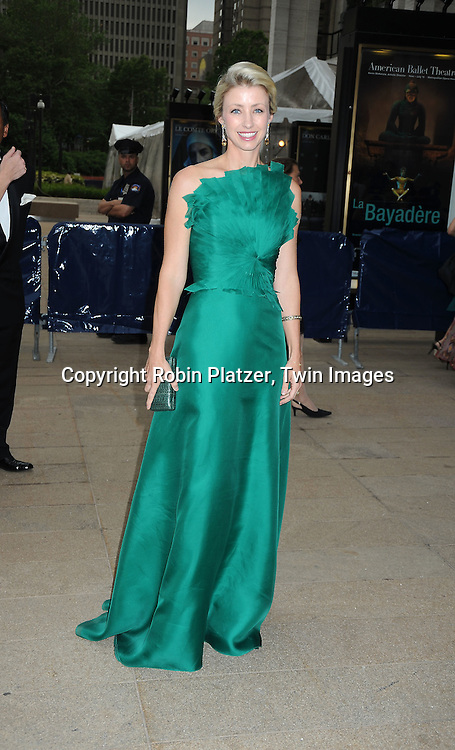arriving at The American Ballet Theatre's 70th Anniversay Season at their Spring Gala on May 17, 2010 at The Metropolitan Opera House in New York City.