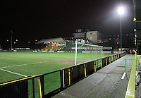 Floodlight failure causes the match at Ship Lane to be abandoned - Thurrock vs Havant & Waterlooville - Blue Square South at Ship Lane - 23/01/08 - MANDATORY CREDIT: Gavin Ellis/TGSPHOTO. Self-Billing applies where appropriate. NO UNPAID USE. Tel: 0845 094 6026