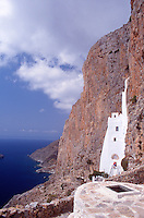Greece Amorgos The monastery of Hozoviotissa