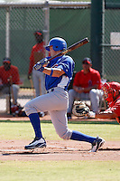 Brandon Guyer - Chicago Cubs 2009 Instructional League .Photo by:  Bill Mitchell/Four Seam Images..