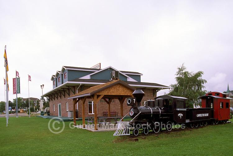 Campbellton, NB, New Brunswick, Canada - Tourist Information Centre and  Model Train Display