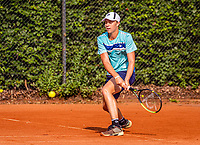 Hilversum, Netherlands, August 5, 2021, Tulip Tennis center, National Junior Tennis Championships 16 and 18 years, NJK, Boys single 18 years, Bastiaan Weststrate (NED)<br /> Photo: Tennisimages/Henk Koster