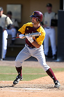 March 7, 2010:  Tyler Kipke of the Central Michigan Chippewas during game at Jay Bergman Field in Orlando, FL.  Central Michigan defeated Central Florida by the score of 7-4.  Photo By Mike Janes/Four Seam Images