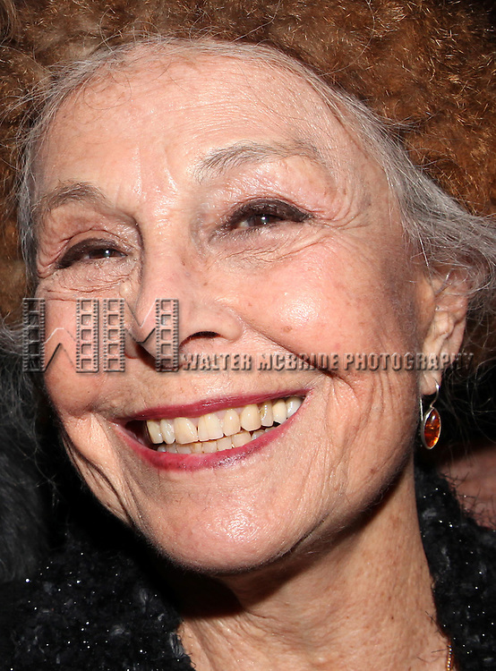 Marge Champion.attends the reception and unveiling for the Al Hirschfeld permanent installation at The New York Public Library for Performing Arts in New York City..