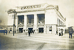 St Louis Mo:  View of the Wabash Railroad Station depot and Exhibit at the St Louis World's fair.  The Stewarts arrived at the Fair through this depot.