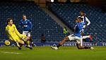 13.02.2021 Rangers v Kilmarnock: Colin Doyle saves from Joe Aribo
