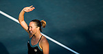 Jelena Jankovic of Serbia vs Ana Bogdan of Romania during the WTA Prudential Hong Kong Tennis Open at the Victoria Pack Stadium on 13 October 2015 in Hong Kong, China. Photo by Aitor Alcalde / Power Sport Images