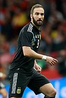 Argentina's Gonzalo Pipita Higuain during international friendly match. March 27,2018.(ALTERPHOTOS/Acero) /NortePhoto.com NORTEPHOTOMEXICO