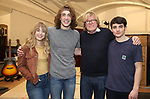 """during the Sneak Peak Meet the cast and creative team of the World Premiere production of """"My Very Own British Invasion"""" on January 16, 2019 at the Church of Saint Paul The Apostle in New York City."""