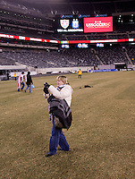 US Supporters Club, field. The USMNT tied Argentina, 1-1, at the New Meadowlands Stadium in East Rutherford, NJ.