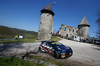 24th April 2021; Zagreb, Croatia; WRC Rally of Croatia, stages 9-16; Nikolay Gryazin - Volkswagen Polo GTI WRC2