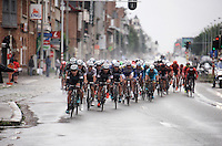 A raging peloton with Team Etixx-Quickstep confident in Tom Boonen's chances in the streets of Brussels.<br /> <br /> Brussels Cycling Classic 2015