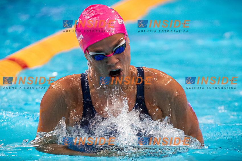 Efimova Yuliya RUS<br /> Swimming - 200m breaststroke women preliminaries<br /> XXXV LEN European Aquatic Championships<br /> Duna Arena<br /> Budapest  - Hungary  20/5/2021<br /> Photo Giorgio Perottino / Deepbluemedia / Insidefoto