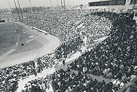 1969 FILE PHOTO - ARCHIVES -<br /> <br /> Sports File ruder bonehall; pro. Expos (history) of more than 29;000 crowd at home opener Jarry Park<br /> <br /> 1969<br /> <br /> PHOTO :  Frank Lennon - Toronto Star Archives - AQP