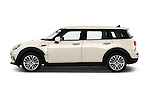Car Driver side profile view of a 2016 MINI Clubman One 5 Door Wagon Side View