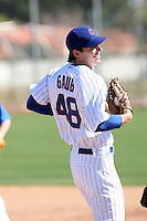 John Gaub. Chicago Cubs spring training workouts at Fitch Park complex, Mesa, AZ - 03/01/2010.Photo by:  Bill Mitchell/Four Seam Images.