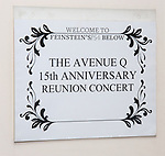 Backstage at The 'Avenue Q' 15th Anniversary Reunion Concert at Feinstein's/54 Below on July 30, 2018 in New York City.