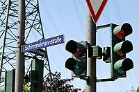 GERMANY, Hamburg, german colonial history, controversial street names, Schimmelmann 1724-1782 was a rich merchant and slave trader  / DEUTSCHLAND, Hamburg, Spuren der deutschen Kolonialgeschichte, umstrittene Straßennamen, Schimmelmannstraße, Schimmelmann 1724-1782 war ein reicher Kaufmann und Sklavenhändler