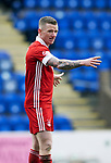St Johnstone v Aberdeen…10.04.21   McDiarmid Park   SPFL<br />Jonny Hayes<br />Picture by Graeme Hart.<br />Copyright Perthshire Picture Agency<br />Tel: 01738 623350  Mobile: 07990 594431