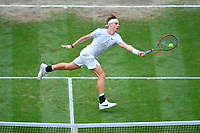 Denis Shapovalov (Can)<br /> London 09/07/2021 Wimbledon <br /> Tennis Grande Slam 2021<br /> Photo Antonie Couvercelle / Panoramic / Insidefoto <br /> ITALY ONLY