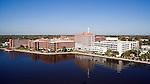 St. Vincents Medical Center Jacksonville Florida helicopter aerial oblique