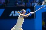 Victoria Azarenka (BLR) wins at Australian Open in Melbourne Australia on 15thJanuary 2013