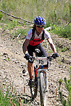Jeenny Dore coming down the mammoth descent. Mammoth Adventure MTB Ride, Nelson<br /> Photo: Marc Palmano/shuttersport.co.nz