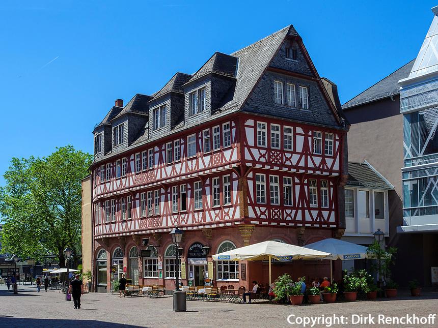 Haus Wertheym, Frankfurt, Hessen, Deutschland, Europa<br /> Haus Wertheym, Frankfurt, Hesse, Germany, Europe