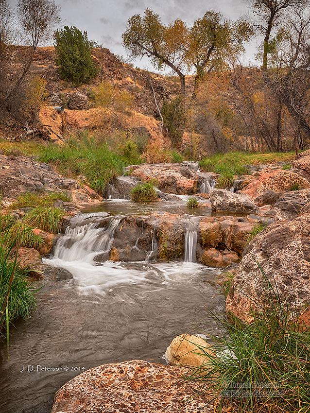 Waterfall, Spring Creek, Arizona