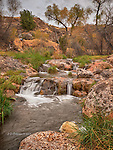 Waterfall, Spring Creek, Arizona