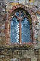 Lanercost Priory, Cumbria, England, UK.  Window,  Anglican Church of Mary Magdalene, 13th. Century.