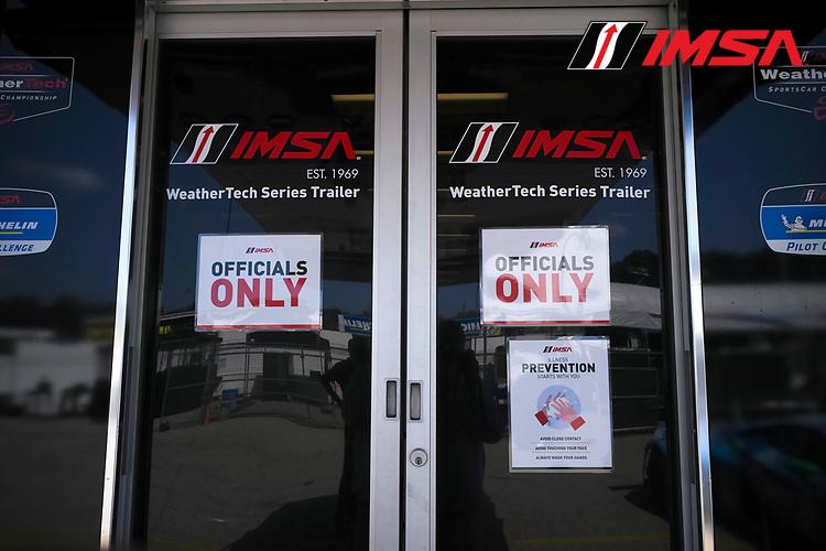 IMSA officials safety protocols