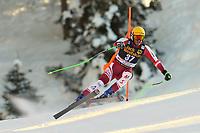19th December 2020; Saslong, Val Gardena, Tyrol, Italy; International Ski Federation Alpine Ski World Cup, 2nd Men's Downhill, Val Gardena; Christian Walder (AUT)