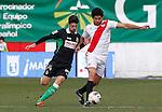 Madrid (03/03/2012).-Campo de Futbol de Vallecas..Liga BBVA..Rayo Vallecano-Real Racing Club..Alvaro, Diego Costa...©Alex Cid-Fuentes.......