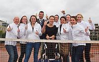 09-01-14, Netherlands, Rotterdam, TC Kralingen, ABNAMROWTT Press-conference,<br /> Photo: Henk Koster