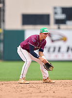 Palm Harbor University Hurricanes Jake Mummau (13) during the 42nd Annual FACA All-Star Baseball Classic on June 5, 2021 at Joker Marchant Stadium in Lakeland, Florida.  (Mike Janes/Four Seam Images)