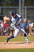 Butler Bulldogs third baseman Connor Dall (23) at bat during a game against the Indiana Hoosiers on March 6, 2016 at North Charlotte Regional Park in Port Charlotte, Florida.  Indiana defeated Butler 2-1.  (Mike Janes/Four Seam Images)