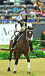 7 October 2010: Anna-Viktoriya Belikova (RUS) competes during Vaulting in the World Equestrian Games in Lexington, Kentucky