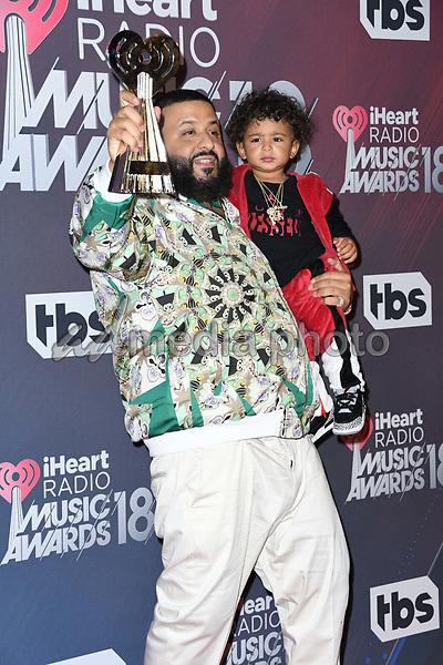 11 March 2018 - Inglewood, California - DJ Khaled. 2018 iHeart Radio Awards - Press Room held at The Forum. Photo Credit: Birdie Thompson/AdMedia