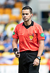 St Johnstone v Livingston….10.08.19      McDiarmid Park     SPFL <br />Referee Andrew Dallas<br />Picture by Graeme Hart. <br />Copyright Perthshire Picture Agency<br />Tel: 01738 623350  Mobile: 07990 594431