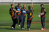 150121 Ford Trophy Cricket - Wellington Firebirds v Central Stags