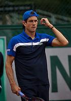 Paris, France, 24 June, 2016, Tennis, Roland Garros,  Guillermo Garcia-Lopez (ESP)<br /> Photo: Henk Koster/tennisimages.com