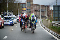 the front of the race <br /> <br /> 70th Dwars Door Vlaanderen 2015