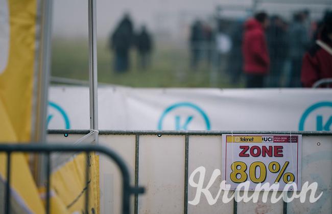 80% cut-off zone<br /> CX World Cup Koksijde 2018
