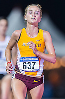 Liz Berkholtz of Minnesota competes in 10000 meter semifinal during West Preliminary Track & Field Championships at John McDonnell Field, Thursday, May 29, 2014 in Fayetteville, Ark. (Mo Khursheed/TFV Media via AP Images)